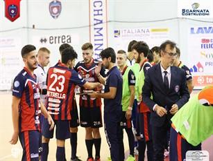 La Chaminade Campobasso in preparazione del match casalingo contro i marchigiani del Corinaldo. Calcio a 5, obiettivo tre punti