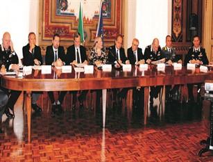 Fenomeni criminosi summit in Prefettura a Campobasso Incontro tra le autorità locali. Dall'analisi si evince un quadro soddisfacente del fenomeno