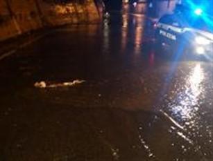 Il maltempo causa disagi tra cui incidenti e traffico in tilt in provincia di Isernia Interviene la Polizia Stradale