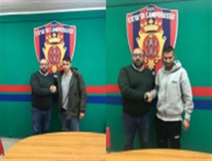 Campobasso Calcio arrivano due nuovi calciatori Ranelli e Musetti