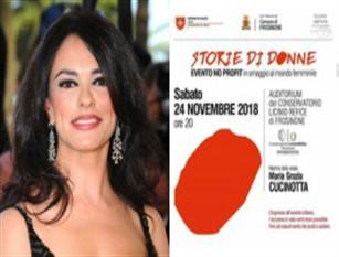 """Frosinone, storie di donne con Maria Grazia Cucinotta. Madrina della serata, l'evento si svolgerà il prossimo 24 novembre nell'auditorium """"Paris"""" del Conservatorio Refice di Frosinone"""