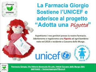 """""""Per ogni bambino nato un bambino salvato"""", UNICEF e il Comune di Roccamadolfi insieme per il progetto"""