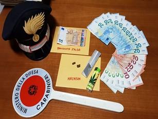 Spendita di banconote false: Carabinieri denunciano due persone campane.