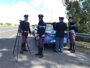 Polizia stradale, attività di controllo sul territorio con l'aiuto del Telelaser Controlli esercitati sulla zona di Campobasso