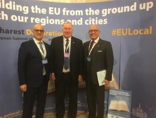 Vertice Bucarest, Toma: «La nuova Unione europea parte dai territori»