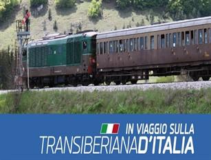 Il 14 e il 15 settembre tornano i treni della Transiberiana Sarà possibile viaggiare da Sulmona facendo tappe nelle principali località del Molise con pernottamento incluso;