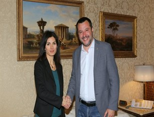 Viminale, incontro Salvini-Raggi Lo affermano in una nota congiunta Viminale e Campidoglio.