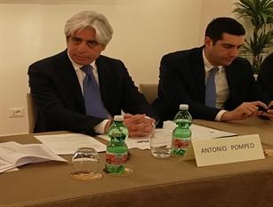Antonio Pompeo nella conferenza unificata stato-città-autonomie locali