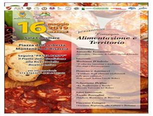 """""""Montenero a Tavola 2019"""" – Festa  e  attesa per il ritorno dell'evento culinario. Il 16 e 17 maggio in Piazza della Libertà a Montenero di Bisaccia"""