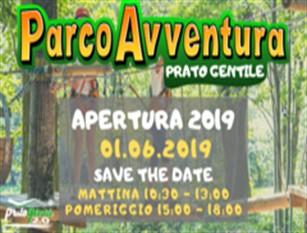 Apertura del nuovo Parco Avventura  a Prato Gentile Dopo la chiusura dei mesi invernale torna il divertimento
