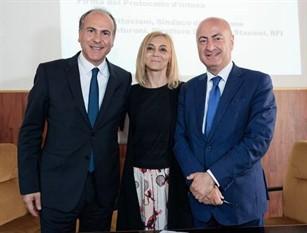 Frosinone, stazione: firmato il protocollo di intesa fra comune di Frosinone – RFI (Gruppo Fs Italiane)