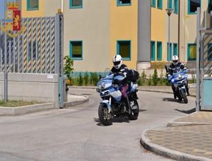 La Polizia di Stato di Isernia si avvale dei nibbio, 'motociclette' per effettuare controlli nel weekend