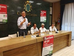A Cassino la prima tappa dell'iniziativa 'Ripartiamo da qui – Il futuro si costruisce nei territori' l presidente Antonio Pompeo: ridare centralità agli amministratori. A cominciare dal sud