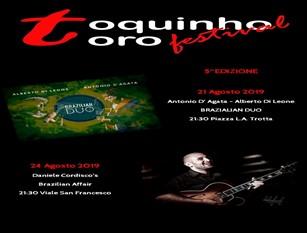 """Convegno """"Vino è Vita. La cultura del Vino tra tradizione e innovazione nella Valle del Tappino"""". A seguire Toquinho Toro Festival V Edizione."""