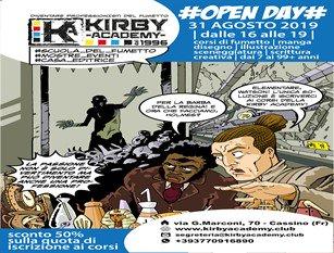 Oggi 31 agosto, open day del fumetto a Cassino
