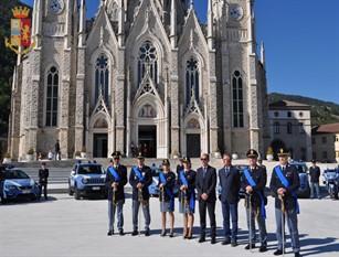 Isernia, la Polizia di Stato celebra il suo Patrono  San Michele Arcangelo.