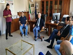 Il Comitato No strisce Blu di Isernia incontra il presidente del Tribunale Enzo Di Giacomo