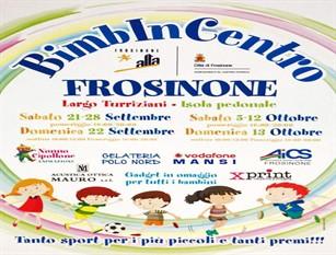 'Bimbincentro', evento ludico a Frosinone dedicato ai più piccini