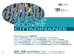 """Prima edizione del festival di Scienze Politiche: la due giorni Unimol dal tema """"Cittadinanze"""""""