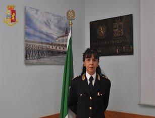 Caterina ZINGARELLI è il nuovo Dirigente dell'Ufficio Tecnico Logistico Provinciale della Questura di Isernia.