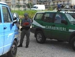 I Carabinieri di Isernia in azione per il contrasto ai reati ambientali.