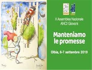 Domani venerdì 6 settembre il sindaco Gravina invitato ad Olbia alla X Assemblea Nazionale ANCI Giovani