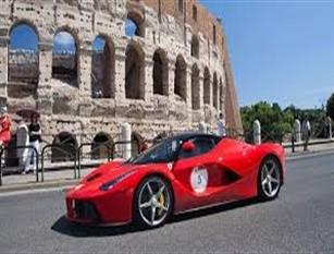 """Dal 20 al 22 settembre il rosso Ferrari tinge la Capitale con ottantacinque autovetture d'epoca Cafarotti: """"Occasione unica per promuovere le bellezze della Capitale in tutto il mondo e per far crescere il turismo di qualità"""""""