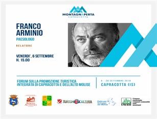 Lo scrittore Franco Arminio visiterà il piccolo paesino di Capracotta La rassegna montagnAperta ospita il paesologo e poeta delle comunità provvisorie