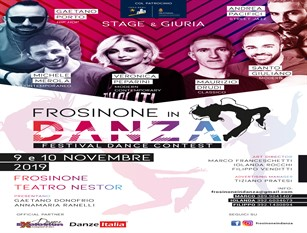 Frosinone in danza: il 9 e 10 novembre il contest al Nestor.