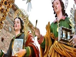 Storia e tradizione sul culto dei SS. martiri Cosma e Damiano