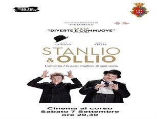 Cinema al Corso: l'apprezzata tre giorni cinematografica lungo corso Vittorio Emanuele si conclude questa sera con Stanlio e Ollio