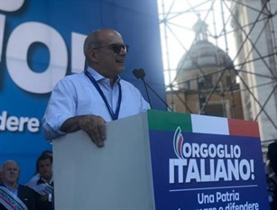 Toma a Roma,piazza arrivi fini a P.Chigi Governatore Molise,vinciamo se uniti,basta con sinistra-sinistra