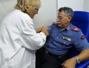 """L'Avis provinciale di Venafro ha """"un'Arma"""" in più: i Carabinieri donano il    sangue."""
