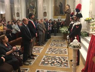 Il sindaco Gravina ha partecipato alle celebrazioni in onore di San Francesco d'Assisi