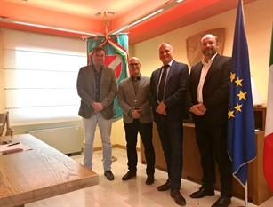Incubatoio Larino,  delegazione Gruppo Veronesi a Palazzo Vitale