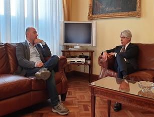 Incontro in Provincia tra il presidente Pompeo e il dg Asl Lorusso di Frosinone 'Acceleriamo sulle emergenze sanitarie e valorizziamo le nostre eccellenze'