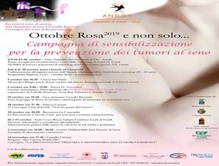 Campagna di sensibilizzazione 'Nastro Rosa' a Fondi iniziative sociali