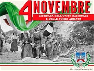 Lunedì 4 Novembre Festa dell'Unità Nazionale a Isernia