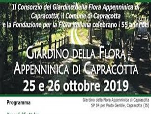 A fine ottobre verrà celebrato l 55° anniversario della fondazione del Giardino di Flora Appenninica di Capracotta