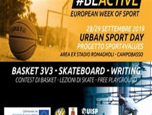 Urban Sport Day, un successo partito dall'adesione al progetto SPORT4VALUES