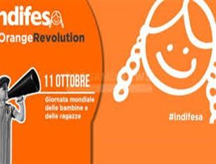 Giornata Mondiale delle Bambine e delle Ragazze. Roma Capitale aderisce a campagna 'indifesa' Oggi esposto striscione in Campidoglio
