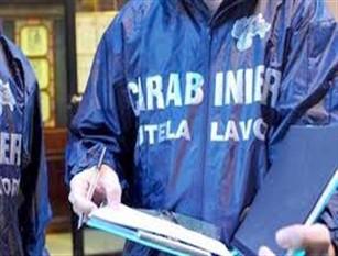Programma anti caporalato dei Carabinieri dell'Ispettorato del lavoro. Sanzionato il titolare di una attività commerciale.