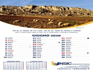 Il calendario Unsic omaggia Frosolone