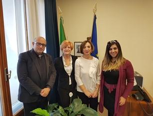 Incontro col Sottosegretario di Stato alla Salute Sandra Zampa e la dirigente nazionale dem Laura Venittelli per discutere sulla sanità