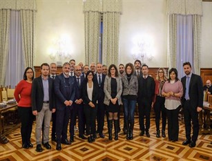 Il sindaco di Campobasso ha partecipato a Roma all'incontro col Ministro della Pubblica Amministrazione