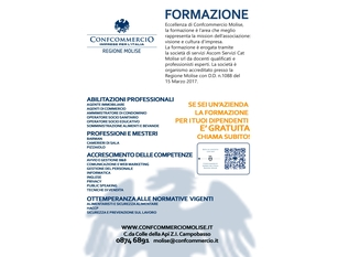 Corrispettivi telematici, oggi a Isernia e giovedì a Termoli due nuovi incontri tematici