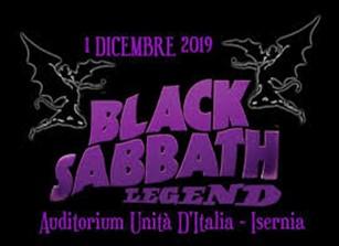 """""""Black Sabbath Legend"""" all'Auditorium di Isernia, concerto patrocinato dal comune il cui ricavato servirà nell'acquisto di defibrillatori"""