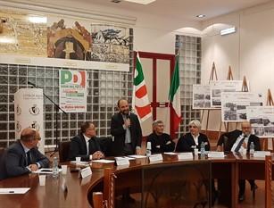 Entusiasta il senatore dem Matteo Orfini ospite ad Aquino per delineare nuove prospettive in futuro del centrosinistra