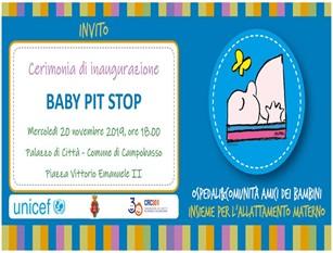 Il Baby Pit Stop (BPS) a Palazzo San Giorgio, Unicef e comune insieme per sostenere le famiglie in difficoltà nel gestire la prole