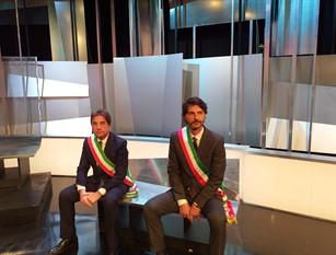 Il sindaco di Campobasso ospite di Lucia Annunziata su Rai 3 a 'Mezz'ora in più'